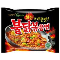 Samyang Green Mie Ramen Goreng Ayam Pedas 140gr