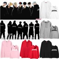 Hoodie Sweater Jacket Jumper IKON KPOP Bling Unisex M-XXL