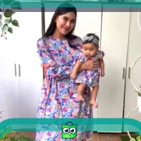 MOM AND BABY SET / BAJU COUPLE bahan katun adem