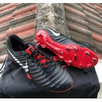 Sepatu Sepak Bola Nike Tiempo x Black Red Premium Original suku cad