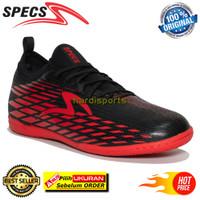 Sepatu Futsal Pria Specs Swervo Venero IN 400970 - Black ORIGINAL