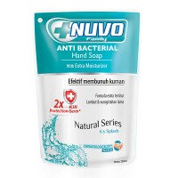 Nuvo Anti Bacterial Hand Soap Icy Splash Refill 250 mL
