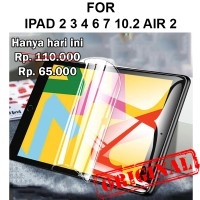 Hydrogel Apple iPad 2 3 4 6 7 10.2 Air 2 anti gores pelindung layar
