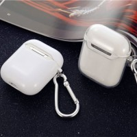 HOT Airpods Soft Silikon Transparan Case Untuk Apple Air Pods 1 2