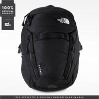 ORIGINAL The North Face Backpack Surge Black 072EFA