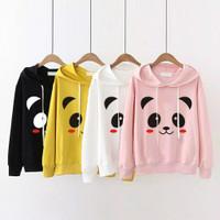 Hoodie Beruang Sweater Anak Perempuan Atasan Anak Pakaian Anak Remaja