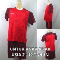 Setelan Baju/Kaos Sepak Bola/Futsal Dri-Fit Print Kids/Anak Nike 10
