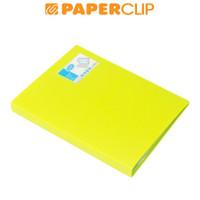 DISPLAY BOOKS / CLEAR HOLDER BANTEX 3147 A4 60 65 LIME