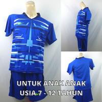 Setelan Baju/Kaos Sepak Bola/Futsal Dri-Fit Print Kids/Anak Nike 6