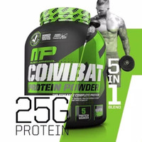 NP MP Muscle Pharm COMBAT 100% WHEY Protein
