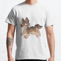 Kaos ahh to be a free floating wolf without a care in the worl T-shirt