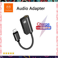 Mcdodo Audio 2 in 1 Adapter for iPhone 7 8 Plus X Cable Splitter for