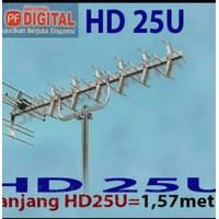 ANTENA TV TERBAIK PF HDU-25 sangat peka Very High Gain Cocok untuk