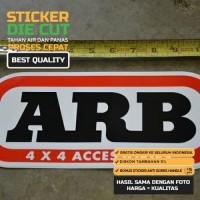Sticker ARB Bamper Depan Belakang - Car Sticker 4x4 Off XXzcQQ