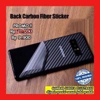 Samsung Galaxy S6 Edge Plus - Antigores Belakang Carbon Back Skin