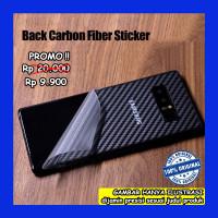 Samsung Galaxy S6 Edge G925 - Carbon Back Skin Antigores Belakang