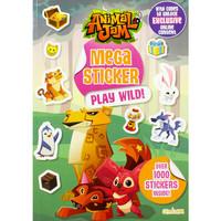 BUKU IMPORT - ANIMAL JAM MEGA STICKER PLAY WILD!