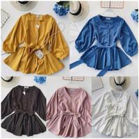 TRENDY melia blouse atasan wanita fashion remaja NEW