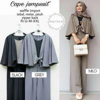 HOT Baju Gamis Wanita Muslim Terbaru Cape Jumpsuit murah NEW