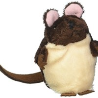 The Puppet Company Brown Mouse Finger Children Toys Puppets, Brown