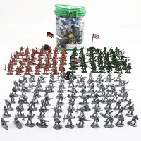 Beebeerun Plastic Army Men Toys for Boys 300 PCS, Little Toys Soldiers