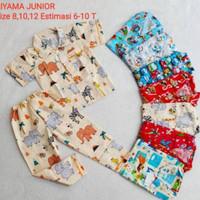 Dijual Piyama Rysa Baju Tudur Anak Cewe Cowo Usia 5 10 tahun