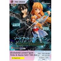 [Exclusive] Lucrea Figure Kirito & Asuna SAO 10th Anniversary (22cm)
