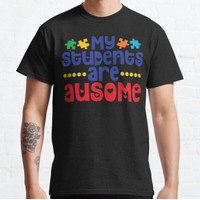 Kaos My Students Awesome ( Ausome ) T-Shirt