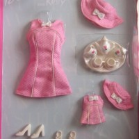 Barbie and Kelly Tea Time Fashion Avenue Clothes (1999)
