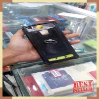 Case Advan S5E Full View Universal Softcase Anti Crack Plus Ring