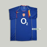 JERSEY RETRO ARSENAL AWAY 2004 2005 GRADE AAA IMPORT TOP QUALITY 04/05