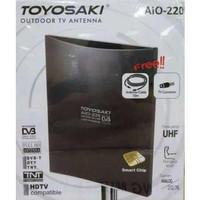 Toyosaki Antenna TV Indoor & Outdoor Kualitas HD