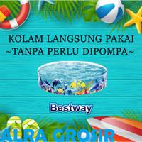 55030 Kolam Renang Anak Tanpa Tiup / Pompa 183cm Fill & Fun Pool MKS