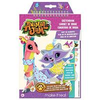 Make It Real - Animal Jam Sketchbook with Exclusive Masterpiece Token.