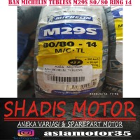Ban Michelin Tubeless M29S 80/80 Ring 14