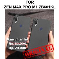 Soft case Zenfone Max Pro M1 ZB601KL casing cover silikon SAND SCRUB