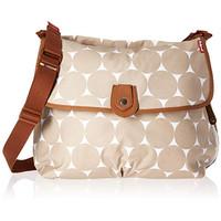 Babymel Evie Tote Diaper Bag, Grey Floral Dot