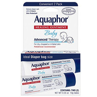 Aquaphor Baby Healing Ointment, Advanced Therapy, 2 Count (Pack of 3)