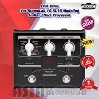Efek Gitar Vox StompLab 1G SL1G Modeling Guitar Effect Processor