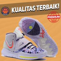 Sepatu Basket Sneakers Nike Kyrie 6 Asia Irving Grape Purple Grey abu