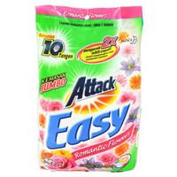 1 KARTON ATTACK DETERGENT POWDER EASY ROMANTIC FLOWER 1,2 KG