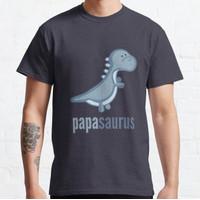 Kaos Papasaurus Shirt Family Dinosaur Shirts Set T-Shirt