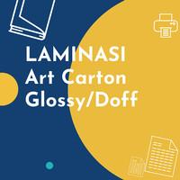 Laminasi Art Carton Glossy/Doff