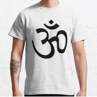 Kaos Indian Hindu Aum Om Symbol T-Shirt