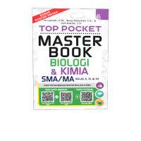 TOP POCKET MASTER BOOK BIOLOGI & KIMIA SMA/MA KELAS X, XI, & XII