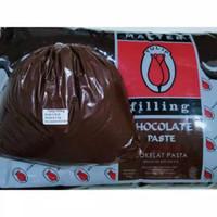 TULIP Filling Selai Coklat Cokelat Isian Roti Kue Donat Repack 500gr