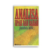 Analisa Upah dan Bahan (Analisa BOW)