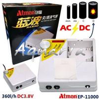 Pompa Udara Listrik Baterai AC-DC Air Pump Aerator Atman EP-11000