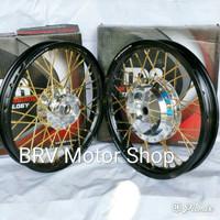 Sepaket Velg Tdr Ring 14 Scoopy Beat Vario Mio X Ride Spin S Order Now