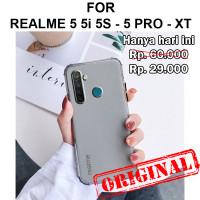 Soft case Realme 5 5i 5s - 5 Pro - XT casing hp cover tpu matte FROZ - Realme 5 5i 5s, Hitam